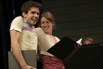 Kate Weatherhead and Robb Sapp at Manhattan Theatre Club BMI Concert